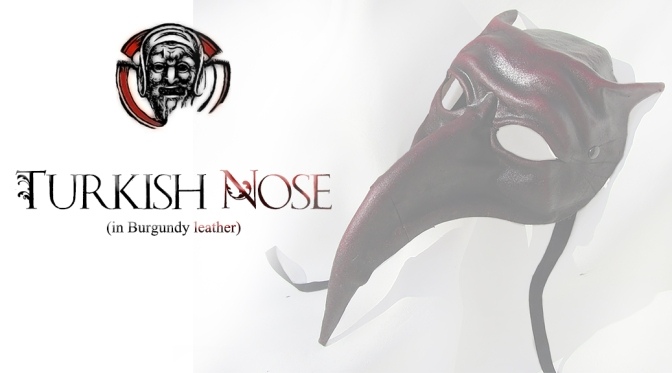 TURKISH NOSE LEATHER MASK